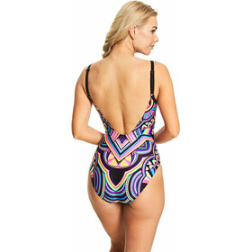 Zoggs Dreamcatcher Deep Scoopback Swimsuit Dames, multi